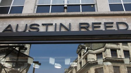 A general view outside Austin Reed on Regents Street, London. Picture Katie Collins/PA Wire