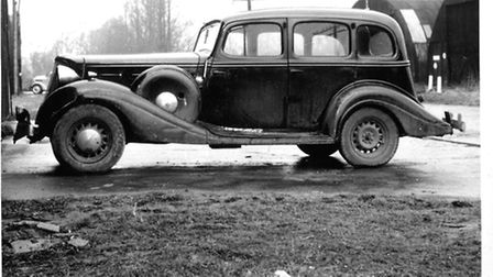 The 1933 Hudson straight eight Peter Webb bought for £30 with two fellow apprentices.