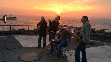 The Harpoon Blues Band perform at Ness Point