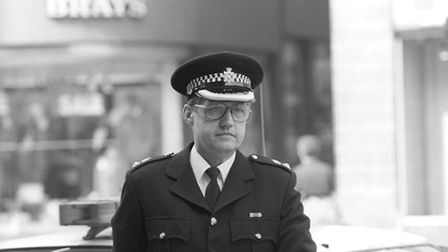Former chief superintendent David Duckenfield in 1989. Photo: PA/PA Wire