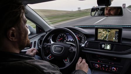 Road tot he future - an Audi A7 piloted driving concept completed a 560-mile test drive, much of it