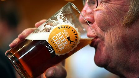 The Great Yarmouth Beer and Cider Festival 2016.Picture: James Bass