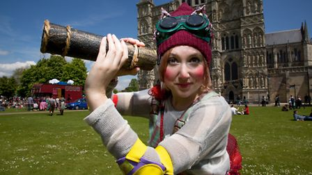 NNF16. Les Enfants Terribles will be performing at The Garden Party in Chapelfield Gardens. Photo: s