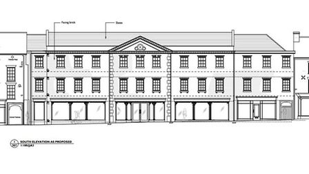 An artist's impression of the new Aldiss building