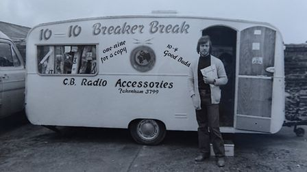 The big thing in the early 80s? CB radio had reached Fakenham.
