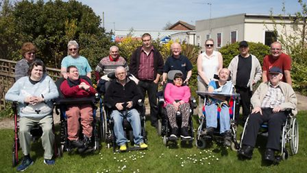 Members, volunteers and staff at Centre 81s existing base