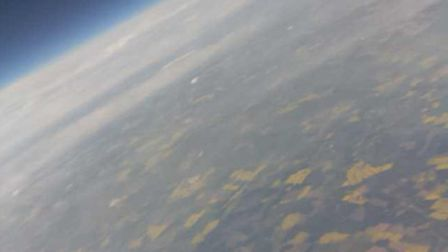 A vew of the earth from near space, captured by FANHAB1.