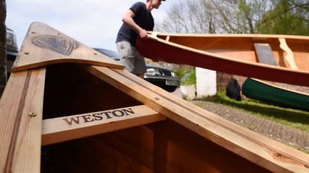 Nick Hanington has launched a new canoe hire business called Pub and Paddle. Taking to the water at