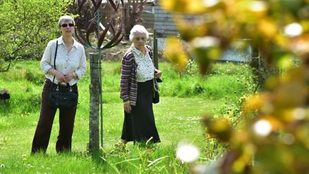 A new wildlife garden is opened at Peter Beales Roses in Attleborough.