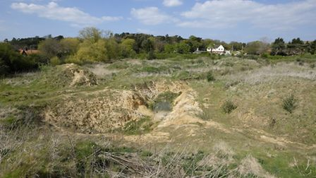 The district council is proposing to purchase the former golf practice ground on Overstrand Road in