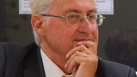 Cllr George Nobbs(pictured), leader of the Council, Cllr Toby Coke, chairman of the Environment, Dev