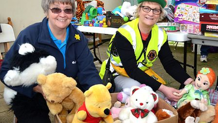 Lowestoft Lions Pettitocat Lane 2015. Judith Dyer and Carolyn Cook, Pictures: MICK HOWES