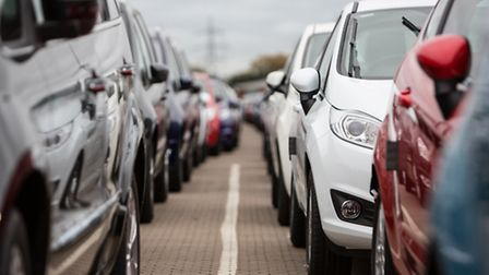 New cars sales last month were 2% up on the previous April.