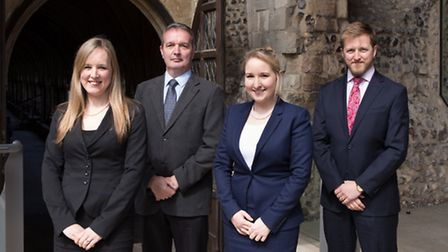 David Richards has accepted an invitation to become a Partner in the firm and Polly Langford, Barrie