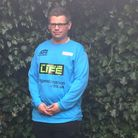 Doug Choat played in the Transplant Sport UK football match