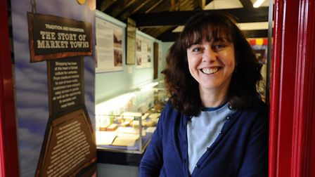 The Museum of the Broads with it's new exhibition looking at Broadland's High Street Through Time. P