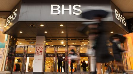 File photo of a branch of BHS. Dominic Lipinski/PA Wire