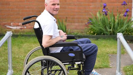 Paul Draper suffered a stroke in 2013. He now uses a wheelchair and has no use of his left arm or ha