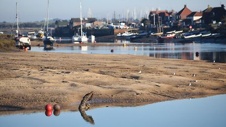 A new pontoon could be built at Wells Harbour. Picture: Ian Burt
