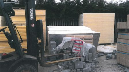 Jewson Ltd fined after employee suffered serious leg injuries