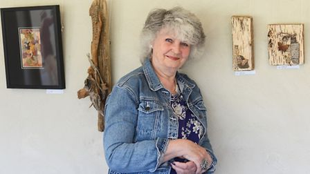 Driftwood artist Angela Edwards is having an exhibition at the West Acre Theatre for the next 2-mont
