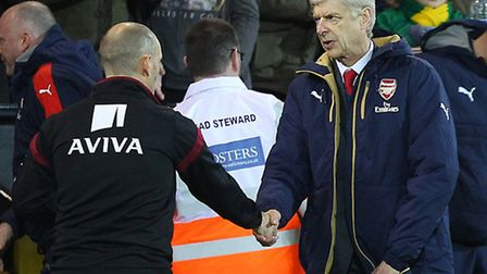 Norwich City manager Alex Neil will try to get the better of Arsenal counterpart Arsene Wenger at th