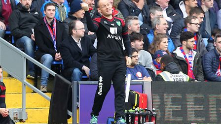 Norwich City manager Alex Neil can count on full support from inside Carrow Road. Picture by Paul Ch