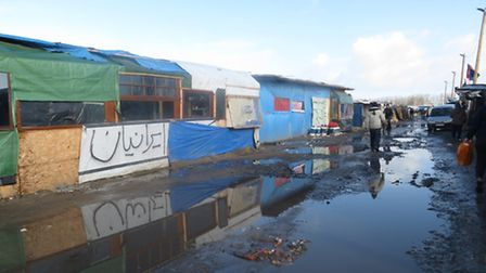 Norwich doctor Emily Player spent time volunteering at The Jungle refugee camp in Calais.