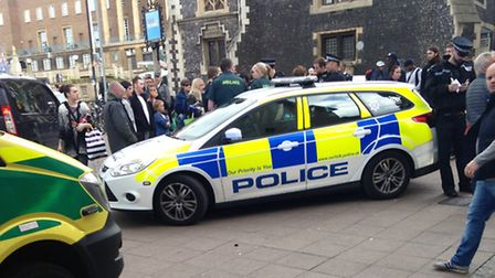 The incident outside Guildhall Tesco.