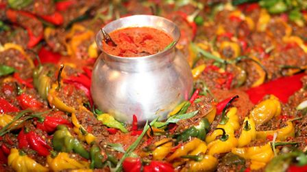 Spicy food. Photo: Katie Collins/PA Wire