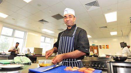 The Savoy Tandori in Great Yarmouth. Pictured is Kayas Miah (chef). Photo: Nick Butcher