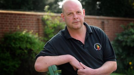 Paul Williams, from Dereham, who survived the Hillsborough Disaster. PHOTO; Matthew Usher