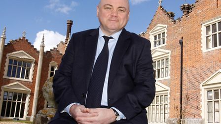 Rob Burnett, chief executive of Bernard Matthews, at Great Witchingham Hall. Picture submitted