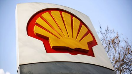 File photo dated 08/04/15 of a Shell logo at a petrol station in London, as Shell's first-quarter pr