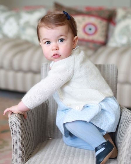 This photo of Princess Charlotte was taken by the Duchess of Cambridge at Anmer Hall in Norfolk in A