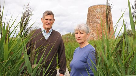 Tim and Geli Harris who own Catfield Fen - one of the top wildlife sites in country - battling to st