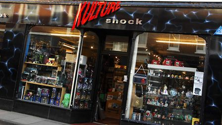 Kulture Shock on St Benedicts Street, Norwich. Picture: James Bass