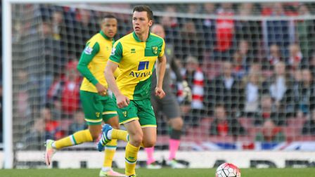 Jonny Howson of Norwich in action. Picture by Paul Chesterton/Focus Images Ltd