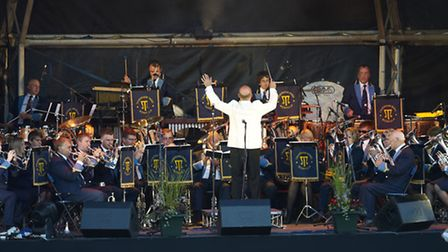 Taverham Brass Band which will play at the garden party