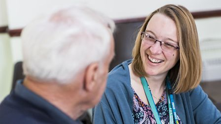 Norfolk relies on community initiatives such as the Wayland Partnership Dementia Café in Watton, cel