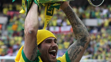 Bradley Johnson looks likely for a Carrow Road return with Derby. Pictures: PAUL CHESTERTON