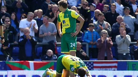 Norwich City must pick themselves up after Premier League relegation. lPicture by Paul Chesterton/Fo