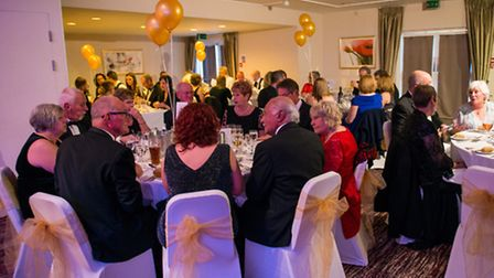 A black tie charity dinner and auction at the Links Hotel, West Runton, helped raised more than 12,0