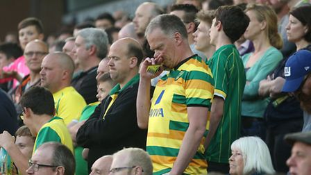 Norwich City fans facing up to relegation. Picture: Paul Chesterton / Focus Images