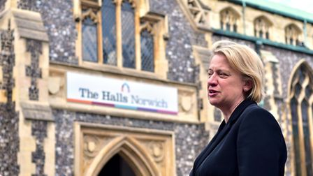 Green Party leader Natalie Bennett in Norwich. Picture: ANTONY KELLY