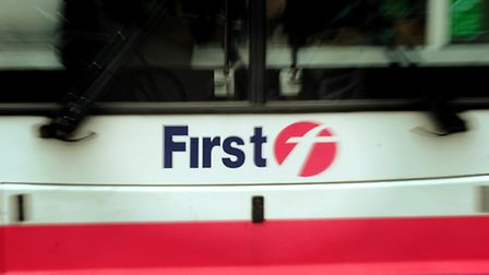 First bus in Norwich; Photo: Bill Smith