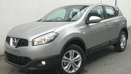 A Nissan Qashqai believed to be very similar to the vehicle involved in the Bungay fail to stop.