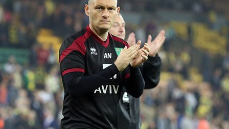 Alex Neil after the midweek win over Watford - the night City's relegation was confirmed. Picture: P
