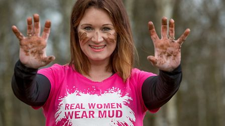 Rachael Warnes will be taking on the race for Cancer Research UK