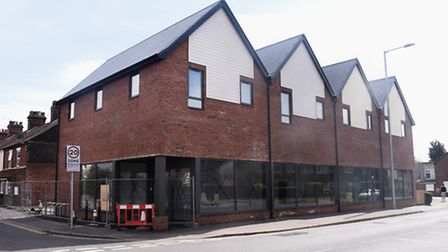The building at the former Rush Lighting site which was planned to become a Sainsbury's. Picture: DE